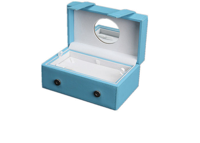 Fashion Jewelry Displays And Boxes , Durable Custom Logo Jewelry Gift Boxes